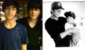 shah rukh khan gets nostalgic about son aryan...