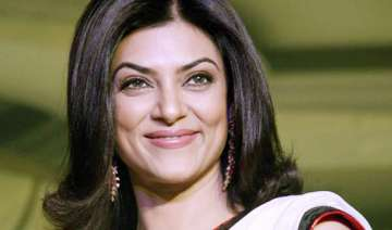 sushmita sen in trouble ceiling of house...