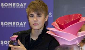 bieber tweets photo of to be launched fragrance -...