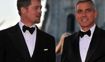 george clooney ropes in pal brad pitt to be his...