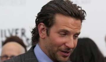 bradley cooper voted man with sexiest hair -...