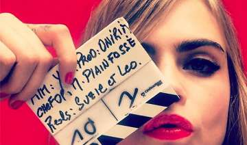 cara delevingne refused to watch herself onscreen...