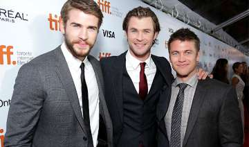 chris liam and luke hemsworth share love hate...