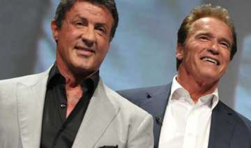 competition with stallone gave way to respect...