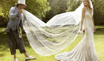 creating kate moss wedding gown saved me john...