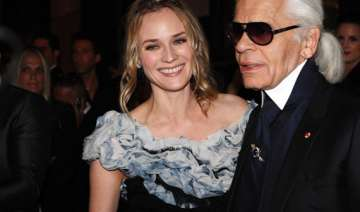 diane kruger happy to be karl lagerfeld s...