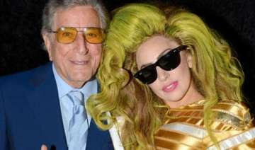 gaga tony bennett surprise graduates with...