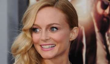 heather graham was nervous at hangover 3 premiere...