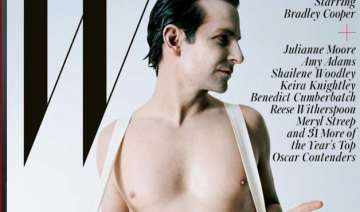 bradley cooper poses nude for w magazine - India...