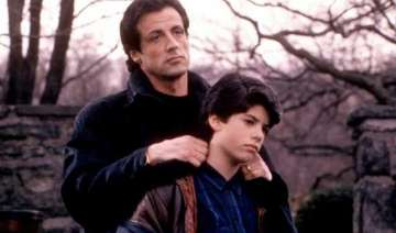 sylvester stallone sees dead son family performs...