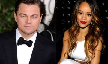 leonardo dicaprio rihanna s flirty moment - India...