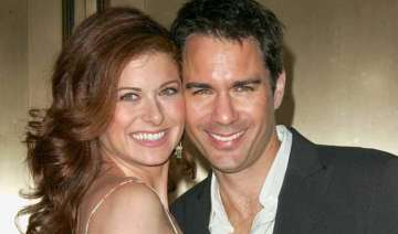 will grace stars eric mccormack and debra messing...