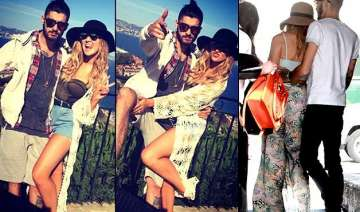 zayn malik caught with fiancee perrie edwards...
