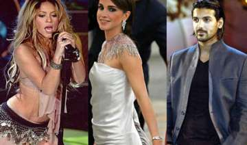 john to team up with shakira queen rania - India...