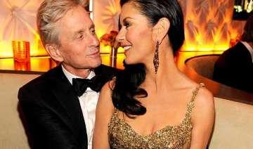 michael douglas gushes over catherine zeta jones...