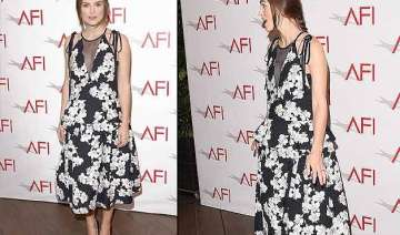 keira knightley makes first appearance since baby...