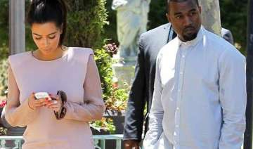 kim s early delivery left kanye nervous - India TV