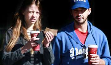 labeouf dating mia goth - India TV