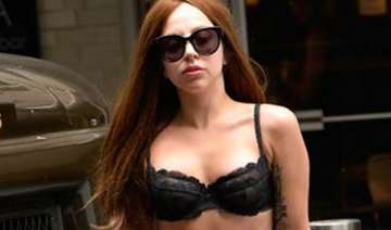 lady gaga s skin show on the road - India TV