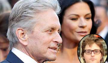 michael douglas son ruined his marriage - India TV