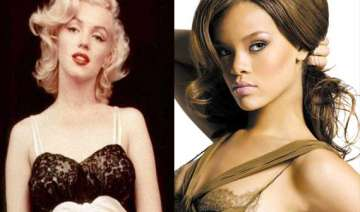 rihanna gets crystal portrait of marilyn monroe -...