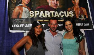 spartacus cast fell ill due to excess training -...