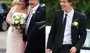 styles couldn t stop smiling as best man - India...