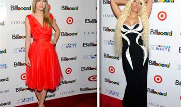 swift minaj get billboard honor talk grammy nods...