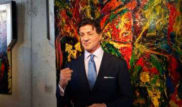sylvester stallone to launch art retrospective -...