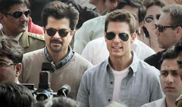 tom cruise arrives in mumbai - India TV