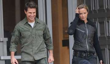 when tom cruise brought smile on emily brunt face...