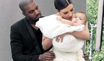kim kanye slammed for travelling without daughter...