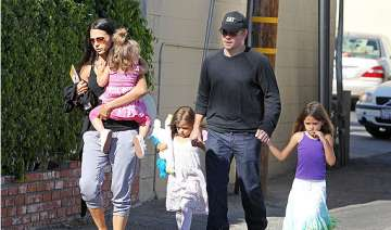 matt damon wants to relax on father s day - India...