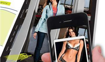 app allows people to see through model s clothes...