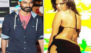 dhanush ditches rakhi sawant - India TV
