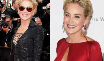 omg 57 year old sharon stone poses nude for...