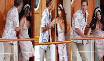 lilo suffers wardrobe malfunction while shooting...