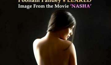 poonam pandey bares it all for nasha pic goes...