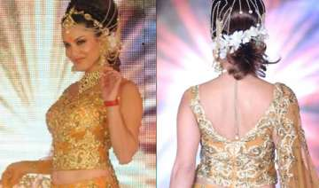 sunny sets the stage on fire in a bridal avatar -...