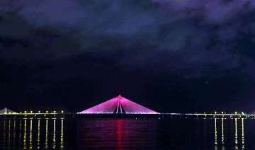 it s pink for bandra worli sea link see pics -...