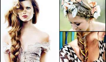 tangled braid hair to stay warm see pics - India...