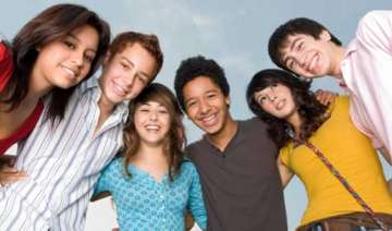 happy teenagers grow into wealthy adults - India...