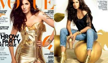 golden glory katrina kaif looks sensuous on vogue...