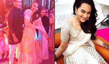 sonakshi sinha at brother s wedding sports 3...