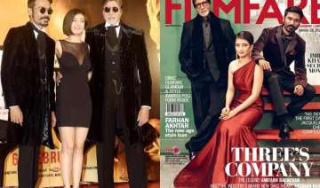 amitabh bachchan dhanush akshara glam up the...