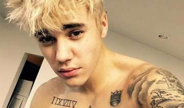 jutsin bieber s new shinny blonde makeover -...