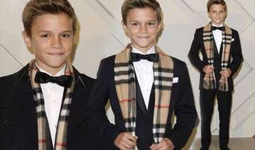romeo beckham boosts burberry sales - India TV