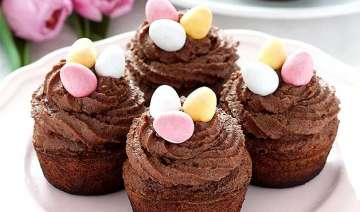 easter fun try cute chocolate cupcakes - India TV