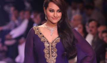 sonakshi sinha to walk for jj vallaya at bridal...