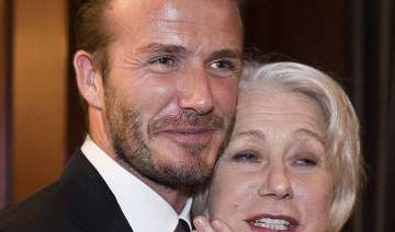 david beckham is beautiful helen mirren - India TV